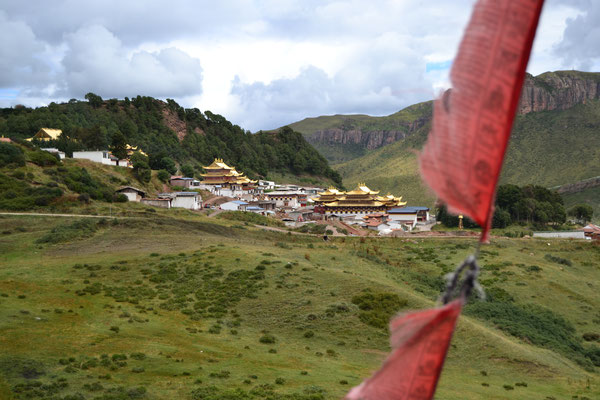 Die Tempelanlage von Langmusi