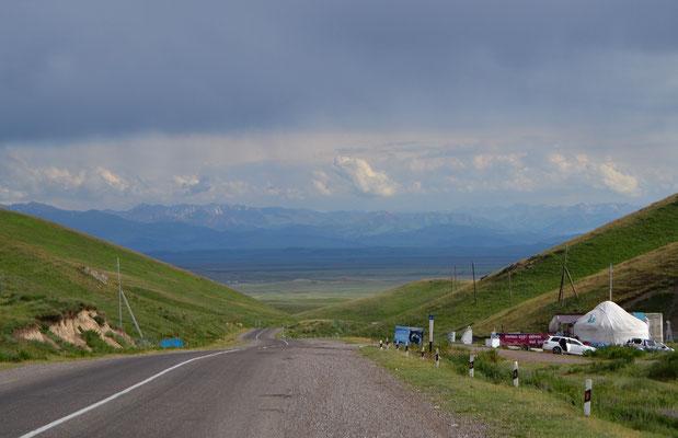 Kurz vor der kirgisischen Grenze