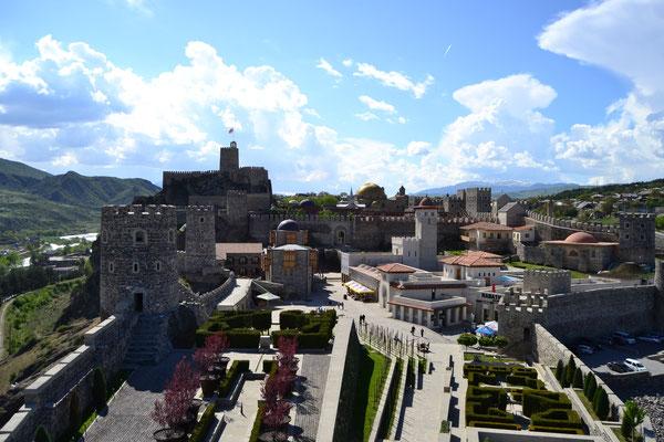 Restaurierte Burg von Achalziche