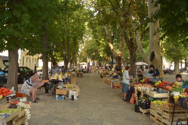 Bauernmarkt in Trebinje, Bosnien Herzegowina