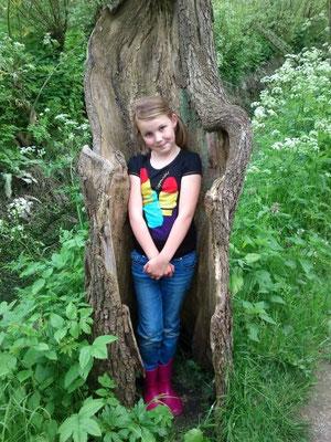 Niet alleen kabouters wonen in een boom! Coraline Rosman