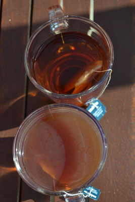 Draufsicht • Teetest durchgeführt von Katrin Köhler am 26.09.2015 in Leegebruch