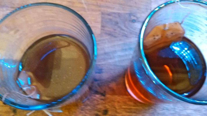 Draufsicht • Teetest durchgeführt von einer Kundin am 23.12.2015 in Mühlenbeck