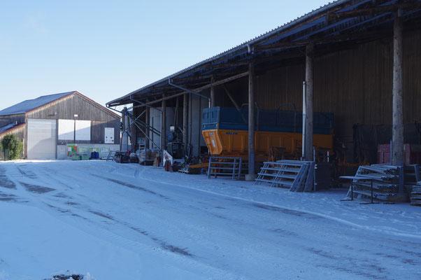 L'exploitation sous la neige