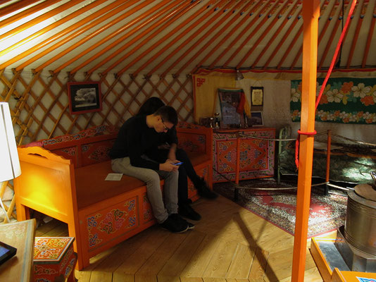 Certains se croient en Mongolie,