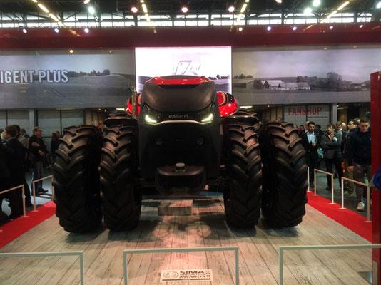 Tracteur autonome.