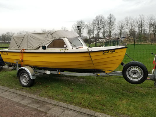 Unser neues Boot