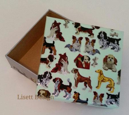 25. Papiere Box/ Hund 2,90 €  (***)