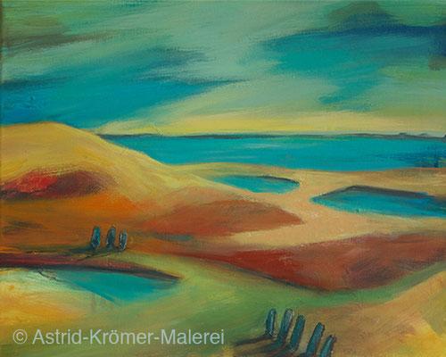Astrid Krömer Malerei, Acylbild: Ruhe, Leinwand 40x50cm, www.astrid-kroemer-malerei.de
