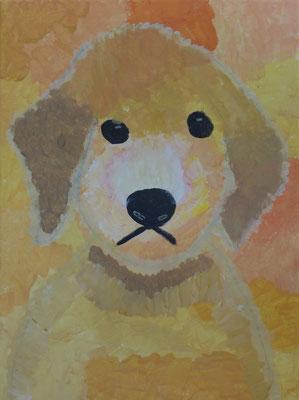 Im Workshop bei Astrid Krömer gemalt von Josefine, 8 Jahre. www.astrid-kroemer-malerei.de