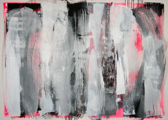 Clara Zelinka #1005 2009 Acryl auf Leinwand 100 x 140 cm