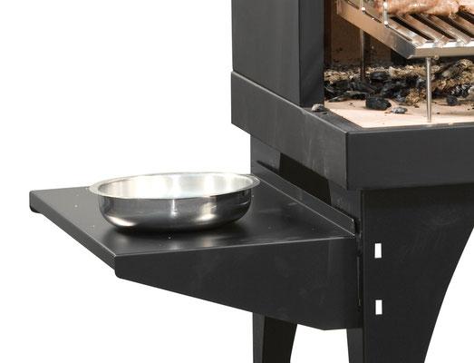 Mensola per appoggiare gli attrezzi da cucina