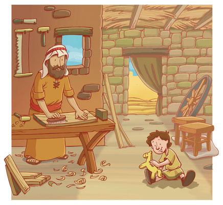 La infancia en Nazaret