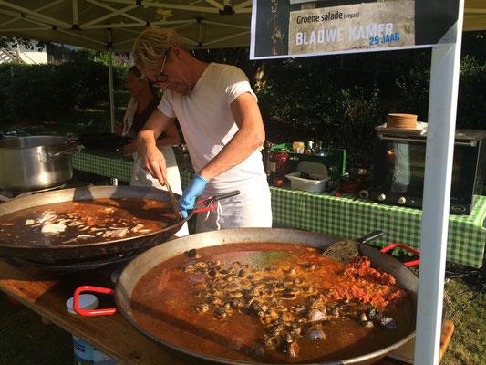 Mediterraan eten van Butifarra.