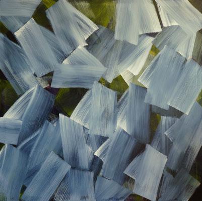 """""""Belichtet"""", 130x130, Acryl auf Leinwand"""