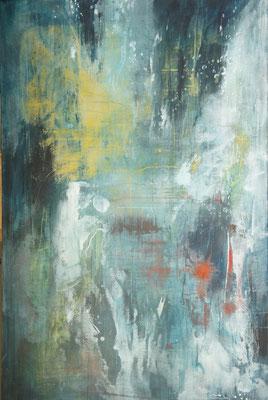 """""""Rettungsaktion"""", 150 cm x 100 cm, Acryl auf Leinwand"""