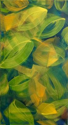 """""""aus der Natur schöpfen"""", 110x60, Acryl auf Leinwand"""