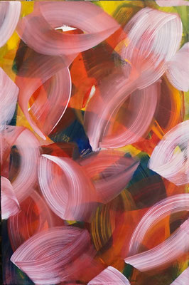 """Lebensform"", 120x80, Acryl auf Leinwand"