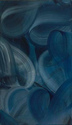 """""""Gelockt"""", 120x70cm, Pigment auf Leinen"""