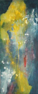 """""""Einband"""", 170 cm x 70 cm , Acryl auf Leinwand"""