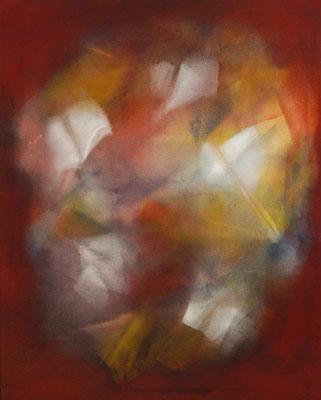 """""""Vollendung"""", 100x80 cm, Pigment auf Baumwolle"""
