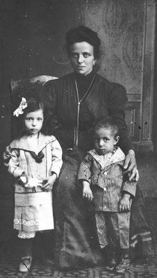 Marcella Casagranda da Gardolo - anni 1915-16 - priori -  deportata con la famiglia in Moravia,1916-1917.
