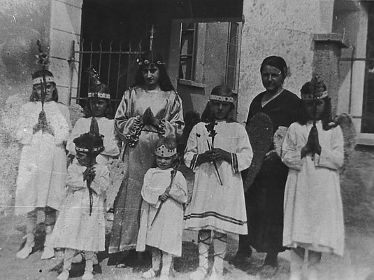 Festa della Madonna a Vigo Meano, 15 agosto 1936.