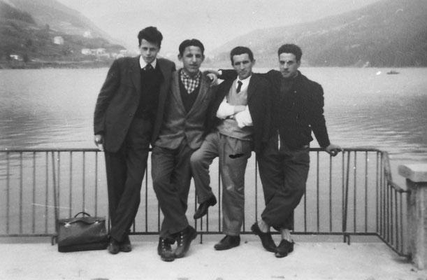 Lago di Serraia, a Baselga di Pinè, 1959-60.