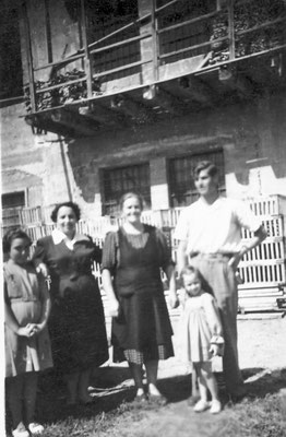 Gruppo grande di lavoratrici della Macera/ Masera di Meano.