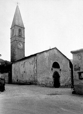 29. Cartolina con chiesa di Meano, primi anni '50. da Mirko Saltori da Sergio Uber