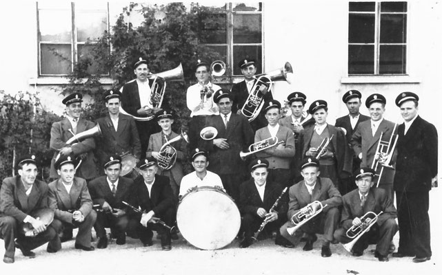 Banda di Vigo Meano, 1955.