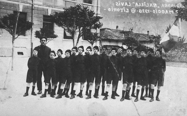 1926, Lavis. Scuola di Balilla