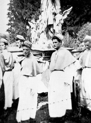 Processione a Vigo Meano, con Antonio Oliver