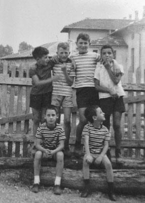 Da sinistra in alto: Sergio Magotti, Francesco Patton e Danilo Pilati