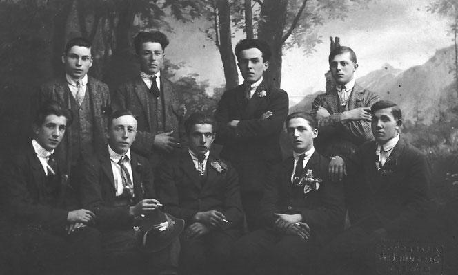 Luigi Santuari, Cornelio, Pio Bortolotti, Bruno Lucin, Berto Pilati