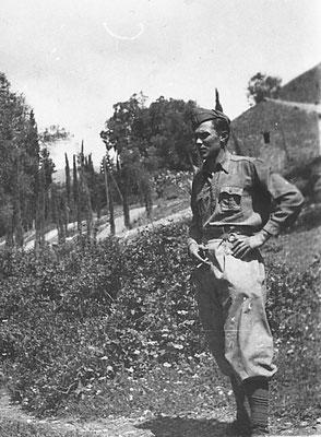 Massimo Saltori, papà del Valeriano, anni '30. Da Mirko Saltori da Silvana Micheletti.