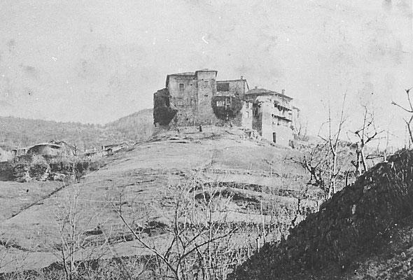 Castello di Cortesano, primi anni del '900.