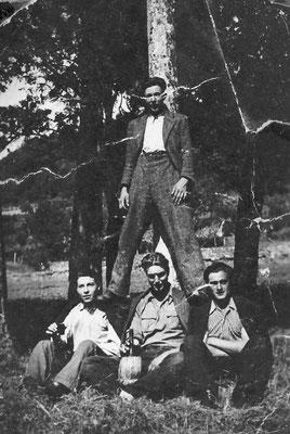 Da sinistra: Alfredo Valter (1924) e Mario Bortolotti (1924)