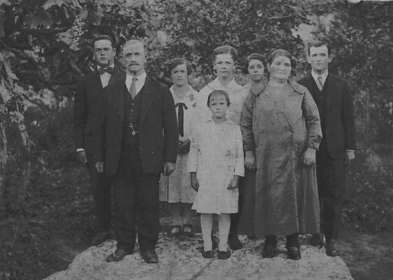 Famiglia di 8 persone