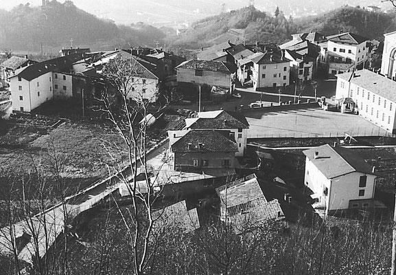 43. Veduta di Vigo Meano. Primi anni '50