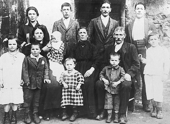 Famiglia Magotti (Bagoti?) di 13 persone di Vigo Meano