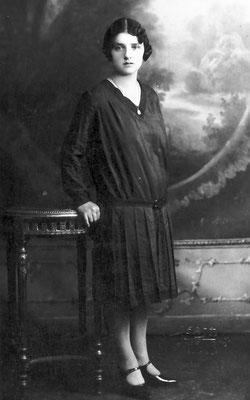 Zia di Renato Saltori, 1928.