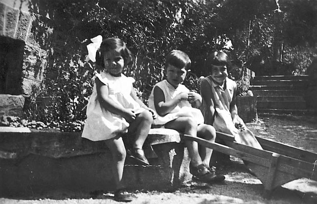 Villa Dallabona, 1935. Da Mirko Saltori da Rosina Pilati