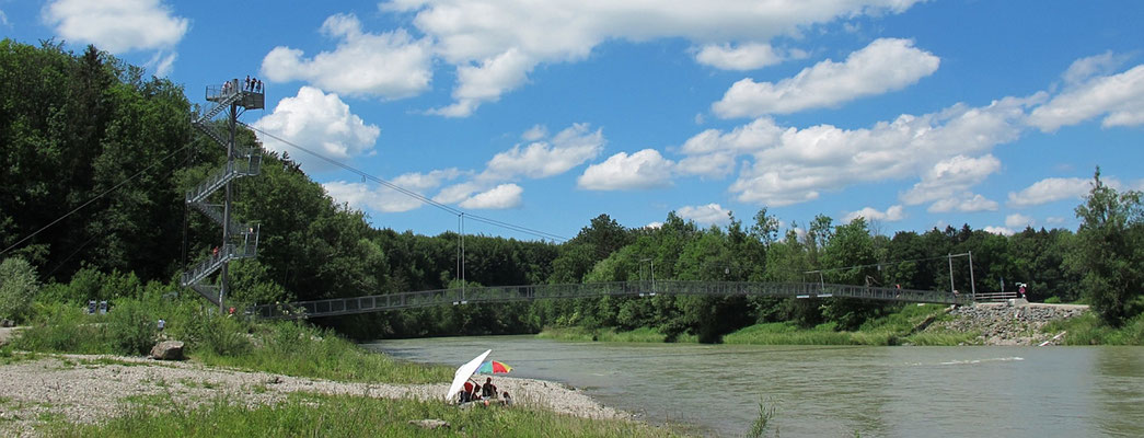 Legau-Sack: Flussraum Iller