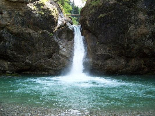 Oberstaufen-Steibis (Buchenegger Wasserfälle)