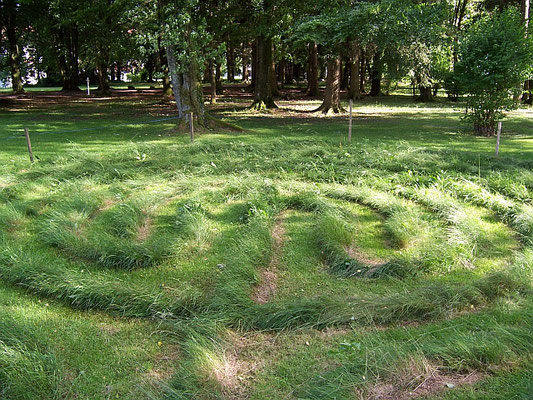 Bad Grönenbach (Stiftsberg: Labyrinth)