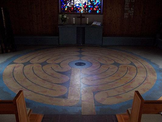 Scheidegg (Auferstehungskirche: Labyrinth)