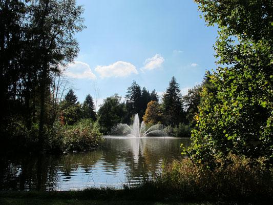Bad Wörishofen (Kurpark mit Barfußweg)