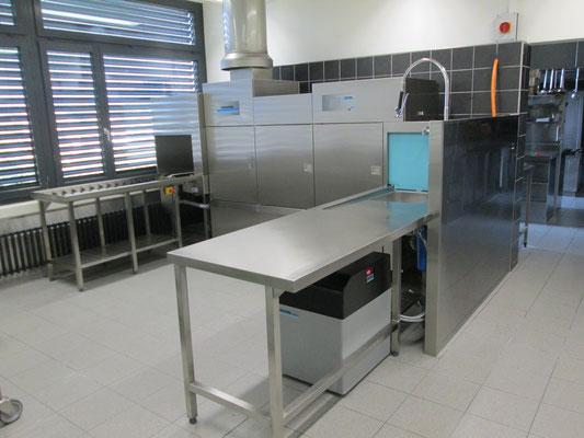 Winterhalter Bandautomat Geschirrspülmaschine mit Enthärtungsanlage