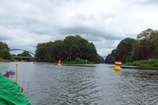 Wasserstraßenkreuz: Finow- und Oder-Havel Kanal